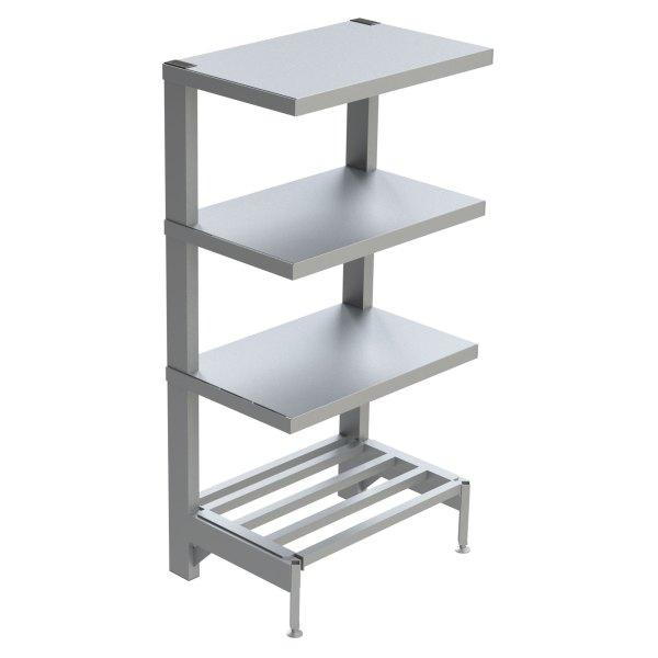 4-Shelf Solid Cantilever Shelving
