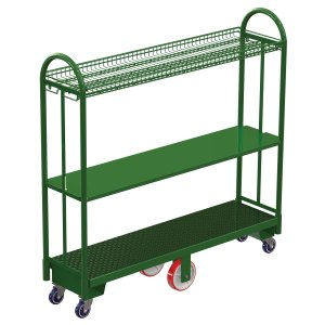 U-Boat with Wire Shelf & Solid Shelf Options