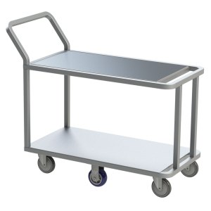 Aluminum Wet Produce Stocking Cart