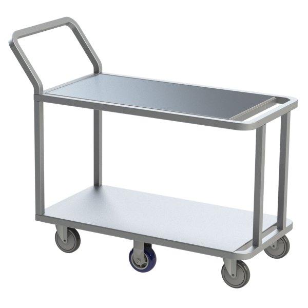 Aluminum Wet Produce Stocking Cart