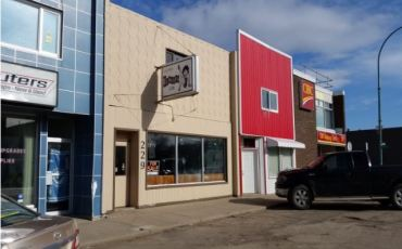 Commercial Turnkey Restaurant in Assiniboia with Apartment Above