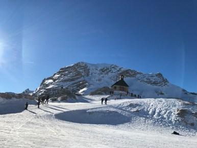 Zugspitze in den Alpen