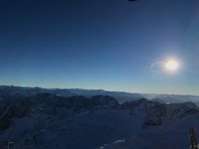 Ausblick von der Zugspitze