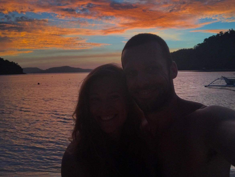 Sonnenuntergang Palawan