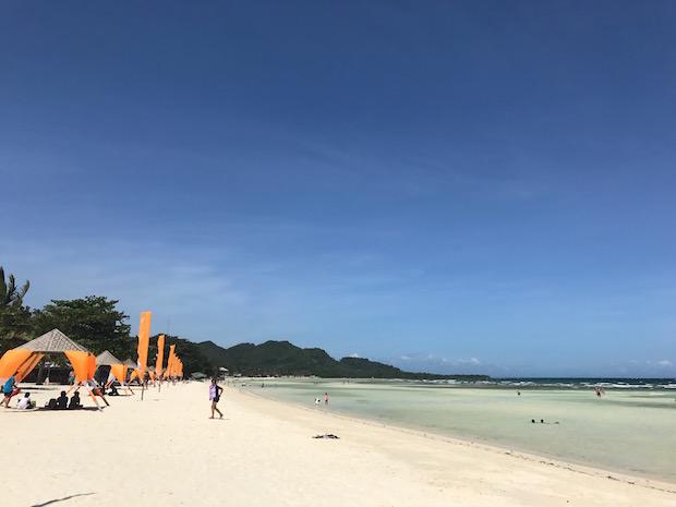 Anda Beach Philippinen