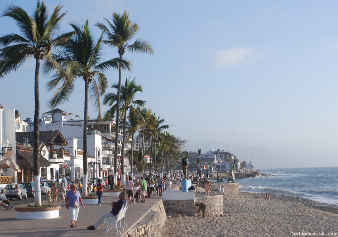 Mexiko-Puerto-Vallarta-Malecon