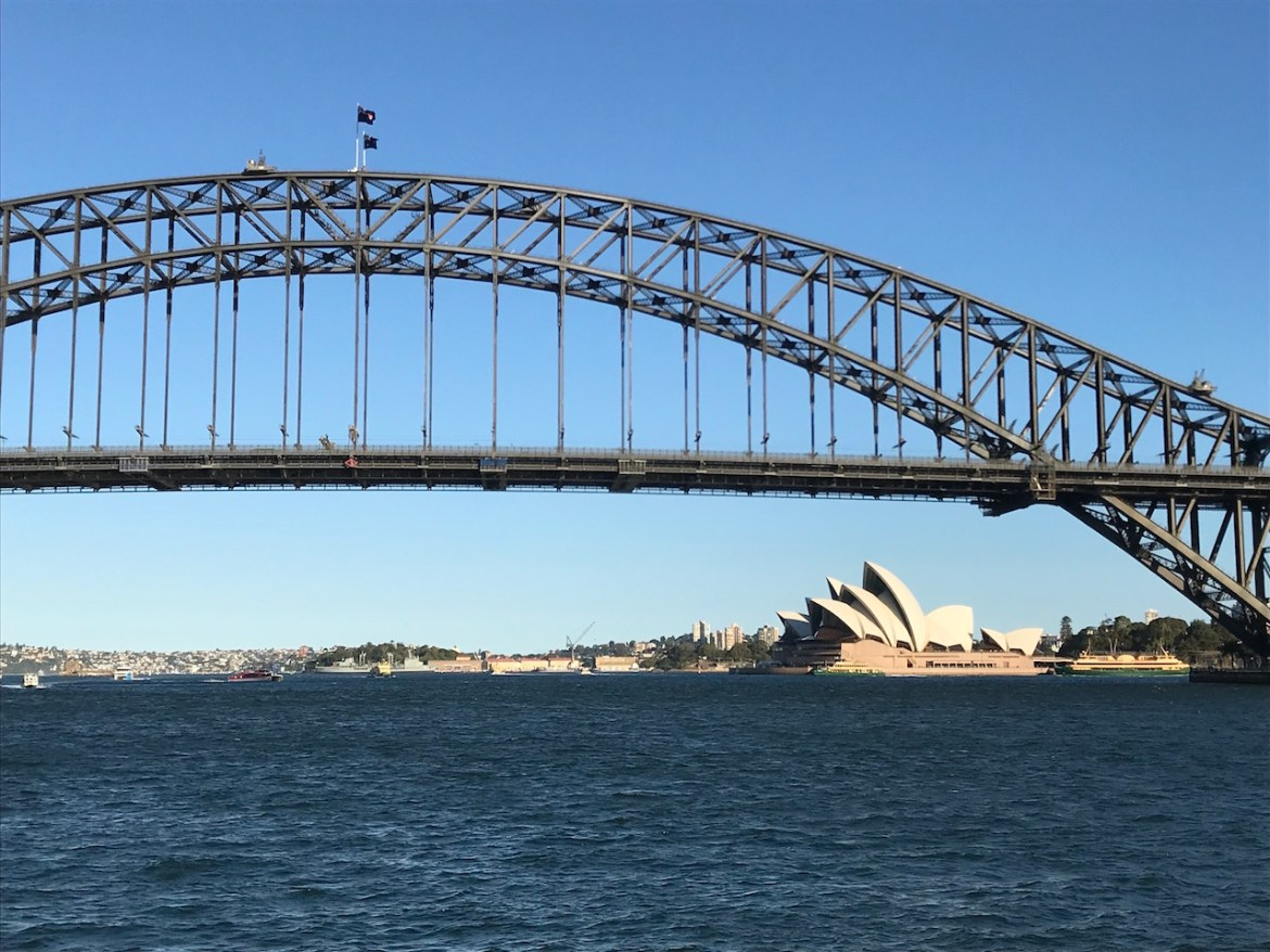 Australien HarbourBridge