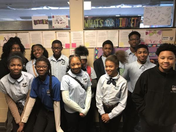 Dove Academy Inducts First Middle Schoolers Into National ...