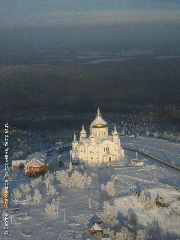 Белогорский николаевский монастырь, россия, пермский край ...