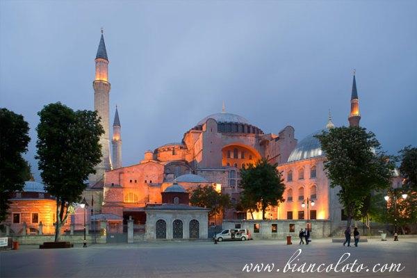 Собор святой софии (стамбул), турция, город стамбул ...