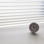 家にある時計は2つ。無印良品とニトリの時計を愛用中です