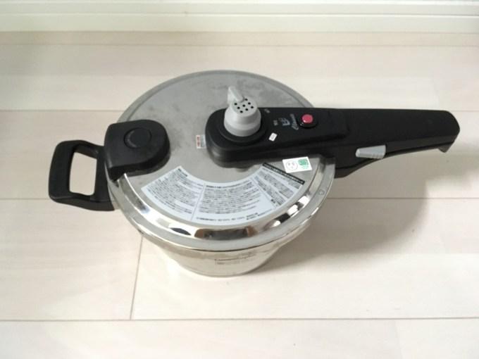 圧力鍋を処分