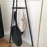 【カバンの収納方法】S字フックを活用して、吊り下げてスッキリする収納術