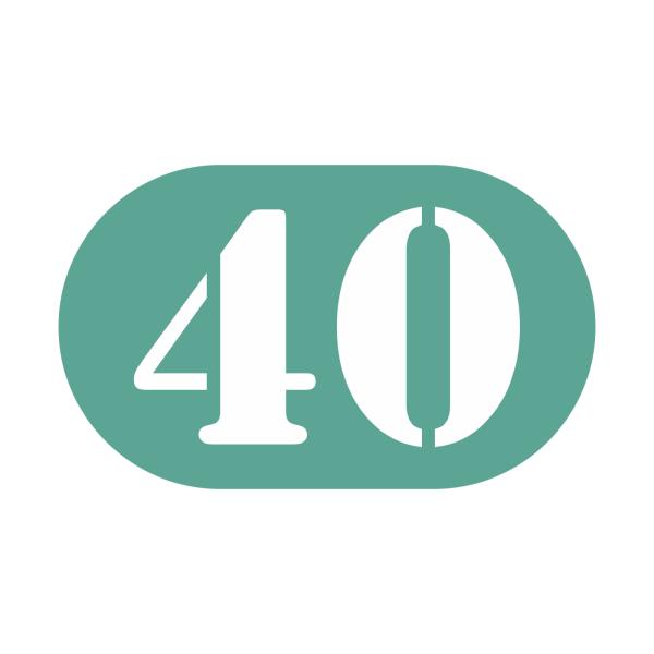 40-tal stickers