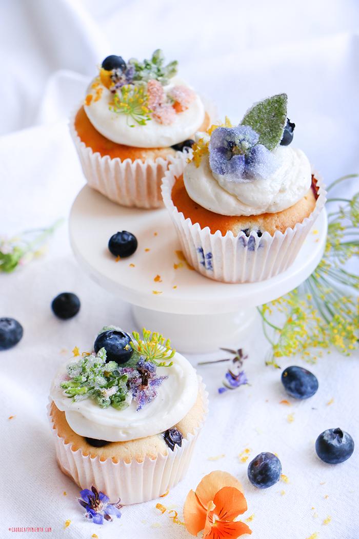 Cupcakes de Vainilla - Receta Base