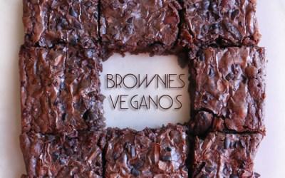 Brownies veganos
