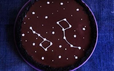 tarta cosmica de chocolate |Chokolat Pimienta
