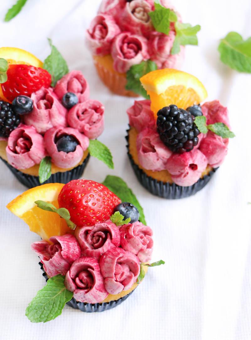 Cupcakes de Sangria 4|Chokolatpimienta.com