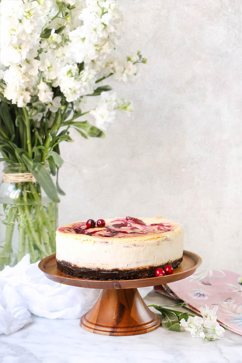 Cheesecake de arandanos 1