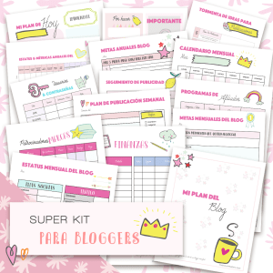 Super Kit para bloggers