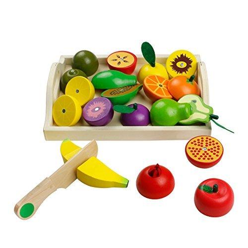 Cortar Frutas Verduras Juguetes Frutas y Verduras Juguete para Corta