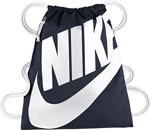 Nike BA5351, Mochila Unisex, Azul Oscuro / Blanco, Talla Única (13l)    Precio: 15.92€        visita t.me/chollismo