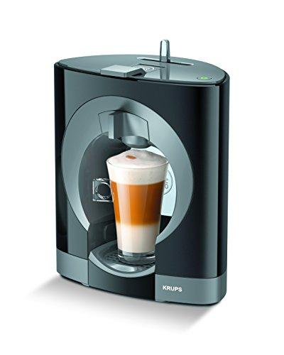Krups Oblo KP1108 – Cafetera Nestlé Dolce Gusto de 15 bares de presión y 1500 W de potencia con depósito de 0,8 L, color negro    Precio: 47€        visita t.me/chollismo