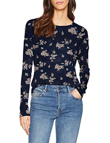 Springfield 2.T.Ap.Pv19.Flor Print Camiseta, Gama Azules 19, X-Large (Tamaño del Fabricante:XL) para Mujer   💸 Precio: 5.49€    🛒    Visto en t.me/chollismo
