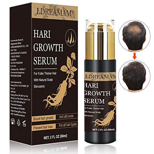 Hair Serum,Aceite para Crecimiento del Cabello,Crecimiento del Cabello,Tratamiento para el Cabello,Tratamiento Cabello,Estimula el Crecimiento Cabello para Hombres y Mujeres    Precio: 13.99€