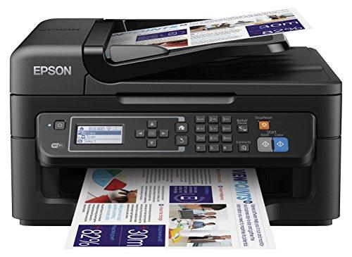 Epson Workforce WF-2630WF – Impresora multifunción de tinta (WiFi, pantalla LCD monocroma retroiluminada de 5,6 cm), color negro    Precio: 59€        visita t.me/chollismo