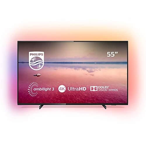 Philips 55PUS6704/12 – Smart TV LED 4K UHD, 55 pulgadas, Resolución de pantalla 3840 x 2160, Relación de aspecto 16:9,  Negro brillante    Precio: 599.99€        visita t.me/chollismo