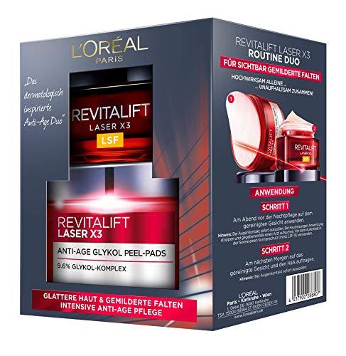 L 'Oréal Paris Cuidado Facial Juego revitalift Laser X3rutina Duo Set de regalo, 20ml    Precio: 12.35€        visita t.me/chollismo