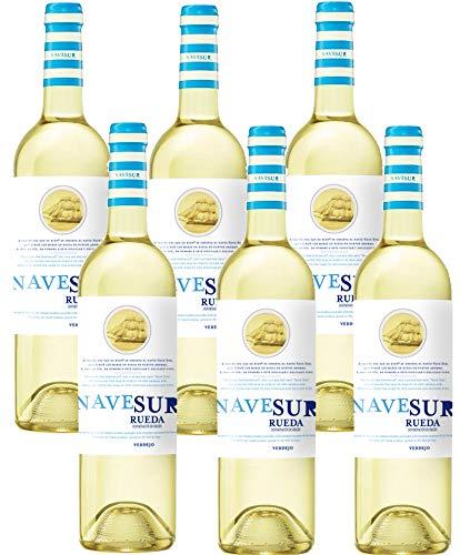 Nave Sur Verdejo – 6 Botellas de 750 ml – Total: 4500 ml    Precio: 14.4€        visita t.me/chollismo