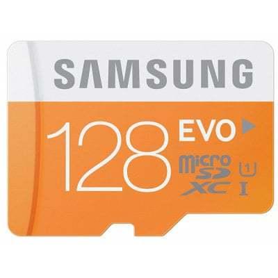 Oferta MicroSD Samsung EVO PLUS clase 10 128Gb por 30 euros (Cupón Descuento)