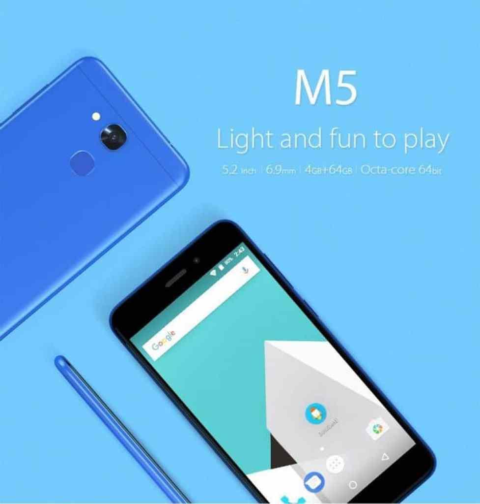 Oferta smartphone Vernee M5 por 100 euros (Oferta FLASH)