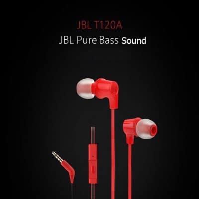 Chollazo auriculares JBL T120A por 10 euros (Cupón Descuento)