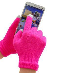 Guantes para manejar pantallas táctiles en invierno por 30 céntimos
