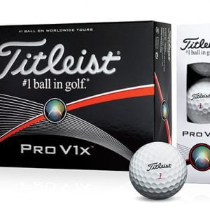 Chollo: Bolas golf Titleist Pro V1x a 18 euros la docena