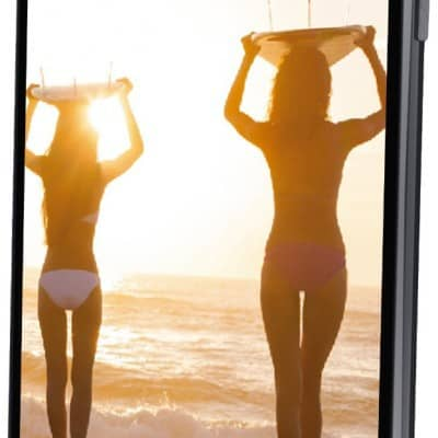 "Wolder miSmart WAVE4 - Smartphone libre de 5"" (HD IPS OGS, Quad Core de 1.3 GHz, 1 GB de RAM, Dual SIM, 5/13 MP, 4 GB, Android 4.4) negro por 95 euros"