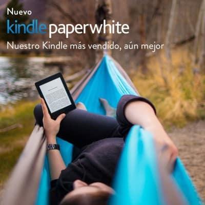 Oferta Kindle Paperwhite por 107 euros (18% descuento)