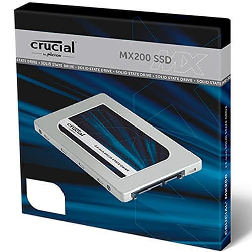 Oferta Disco Duro SSD Crucial MX200 500 Gb por 143€ (37%DTO)
