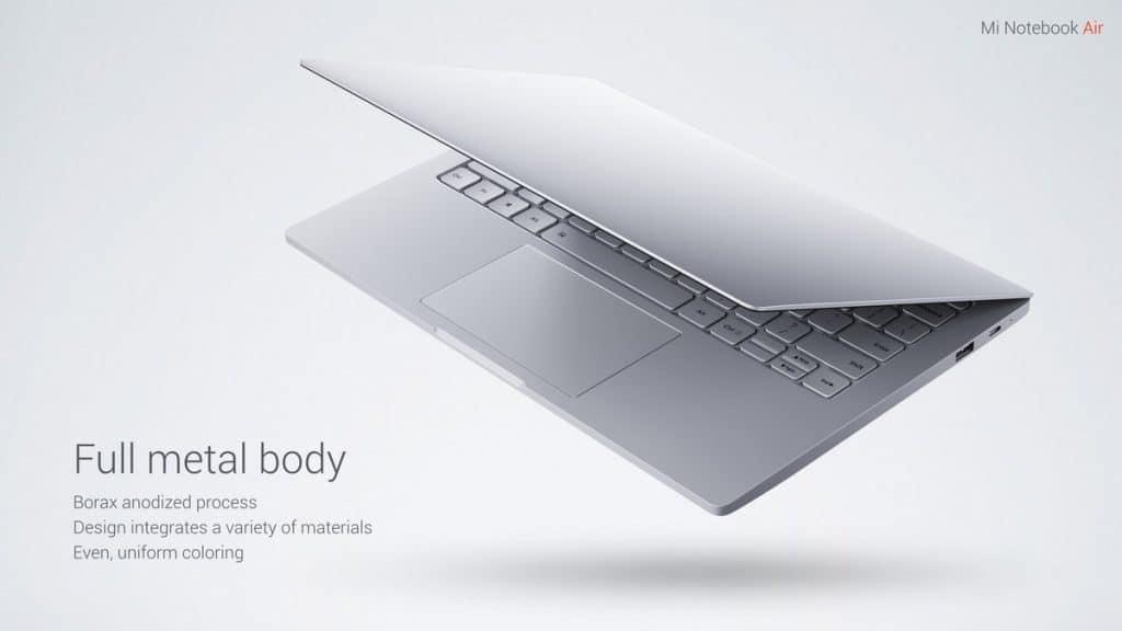Oferta portátil Xiaomi Mi Notebook Air 13 por 631 euros y Air 12 por 439 euros (Cupón Descuento)