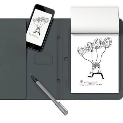Oferta Cuaderno inteligente Wacom Bamboo por 99€ (Ahorra 60€)