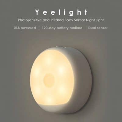 Oferta luz LED nocturna Xiaomi Yeelight por 9 euros (Cupón Descuento)