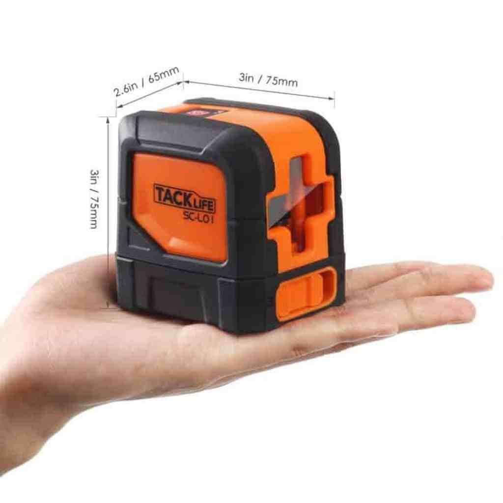 Oferta nivel l ser tacklife sc l01 por 29 99 euros cup n - Nivel laser precios ...