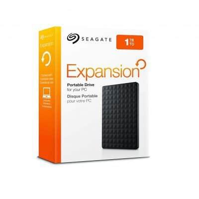 Chollo Disco duro externo de 1 TB Seagate por 40 euros (Cupón Descuento)
