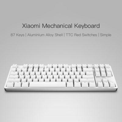 Oferta teclado mecánico Xiaomi por 54 euros (Cupón Descuento)