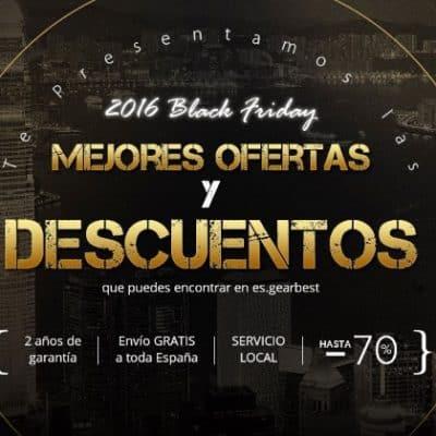 Black Friday en Gearbest desde el almacén de España