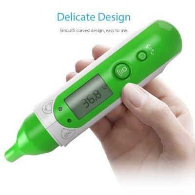 Chollazo termómetro digital por infrarrojos Koogeek por 14 euros (Cupón Descuento)