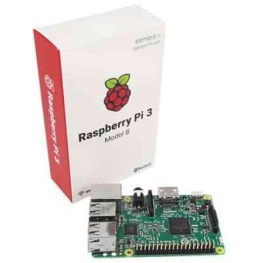 Oferta Raspberry Pi 3 Model B por 31 euros (Cupón descuento)